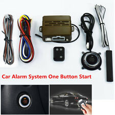 Car Alarm System Induction Remote Control Engine One Button Start Push Remote D
