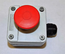 TELEMECANIQUE ZB2-BE101 EMERGENCY STOP SWITCH ASSEMBLY