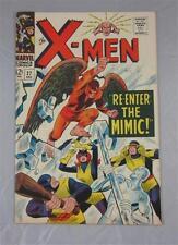 X-MEN #27 DEC 1966 RE=ENTER MIMIC SPIDERMAN APP VF + 8.5