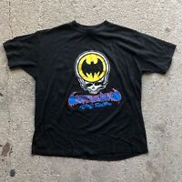 Vintage Grateful Dead Batman Summer Rare Tour 1989 T-Shirt Gildan Reprint USAsz