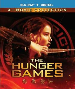 Hunger Games - 4 Film Collection (BLU-RAY + DIGITAL) BRAND NEW + FREE SHIPPING