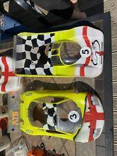 Serpent Impact 1/10 Wide Body Rc Car Novarossi Hudy