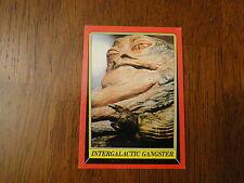 1983 Star Wars Return of the Jedi Jabba the Hutt Card 15