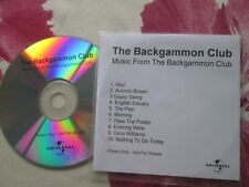 Backgammon Club Music From The Backgammon Club (Music Used In TV Series CD Album
