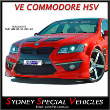 LED DRL PROJECTOR HEADLIGHTS FOR VE HSV GTS CLUBSPORT MALOO SENATOR E1 E2 E3