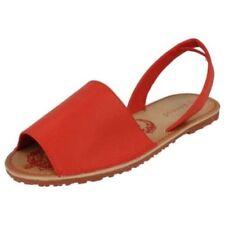 Chaussures rouges en synthétique à enfiler pour fille de 2 à 16 ans