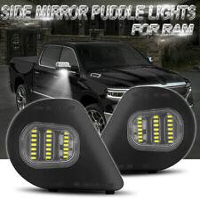 LED Side Marker Mirror Puddle Light For Dodge Ram 1500 2500 3500 4500 5500 10-19