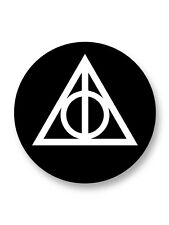 Magnet Aimant Frigo Ø38mm Deathly Hallows Harry Potter