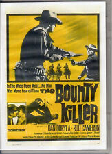 THE BOUNTY KILLER DAN DURYEA & ROD CAMERON RARE WESTERN  ALL REGION DVD