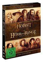 Mittelerde Collection [6x DVD] *NEU* DEUTSCH Herr der Ringe + Der Hobbit 1 2 3