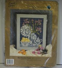 Something Special Needlepoint Kit Still Life Blue Porcelain Picture 30797 New