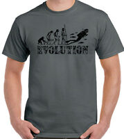 Buceo EVOLUTION Hombres Camiseta Divertida Snorkel Equipo GEAR MAR AIRE Tanks