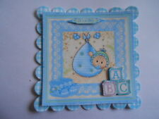 PACK 2 BABY BOY BLUE BUNDLE  FOR CARDS & CRAFTS