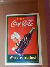 Postcard Advertising Coca Cola  Old Advert Modern card