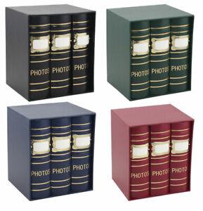 Old Fashion Fotoalben für 300 Fotos in 10x15 cm Einsteck Foto Album Memoalbum