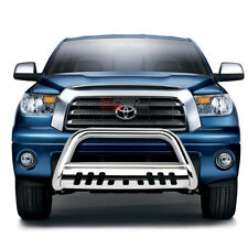 FOR 07-16 TOYOTA TUNDRA/SEQUOIA STAINLESS BUMPER BULL BAR PUSH GRILLE SKID PLATE