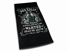 Ned Kelly Wanted Dead or Alive Beach Towel / Bath Towel