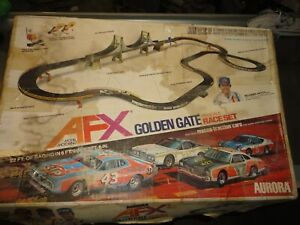 Aurora AFX Golden Gate Road Race Set  Misc. parts