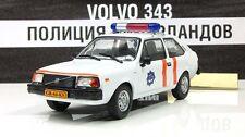 1:43 VOLVO 343 Netherlands Police cars of the world + Magazine #62