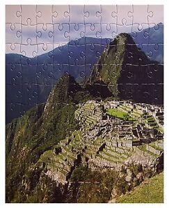 GRAFIX 8 Jigsaws 2700 Pieces 8 Wonders Of The Ancient World Machu Picchu Peru