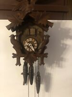 edelweiss musical cuckoo clock LADOR One Day Keeps Time See Pictures
