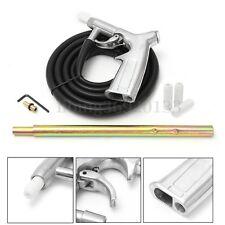 "Sand Blaster Air Sandblaster Blasting Gun Tool Kit Tube + Hose 1/4"" Nozzles"