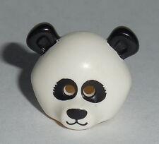 HEADGEAR Lego Panda Guy Mask Black eyes & ears  NEW 71004 Genuine Lego