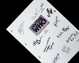 Doctor Who TV Script Screenplay Signatures Autographs Reprint Smith & Jones Dr