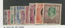 Burma, Postage Stamp, #52//64 Used, 1946, JFZ