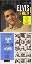 "Elvis Presley ""Elvis is back"" Von 1960! Mit sechs Bonustracks! Nagelneue CD! 1A"