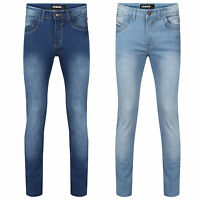 MENS BOYS G8ONE DENIM STRETCH SKINNY SLIM FIT JEANS ALL WAIST & LEG SIZES DES-1