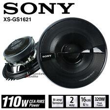 """Sony XSGS1621 6.5 """" 2-Way Speaker Pair 110 Watt Coaxial FRD Speakers"""