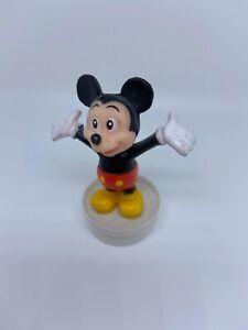 Micky Maus Mickey Mouse Vintage Figur Disney Kindheit Spielzeug Sammlerstück