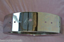 "1970's LUDWIG 13"" 3.5X13 CHROME PICCOLO SNARE SHELL for YOUR DRUM SET! LOT #t481"