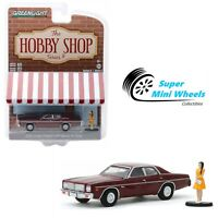 Greenlight 1:64 The Hobby Shop 1976 Dodge Coronet with Woman in Dress
