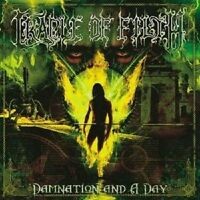 "CRADLE OF FILTH ""DAMNATION AND THE DAY"" CD NEUWARE"