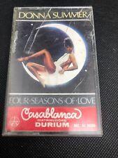 MC  DONNA SUMMER FOUR SEASONS OF LOVE DURIUM ME AI 3039 ITALY PRESS 1976