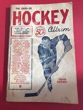 1948-49 NHL Hockey Album 100 Photos Maple Leafs -Howe- Rare