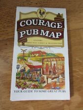 More details for courage pub map guildford nw surrey sussex coast  centenary issue  1987 poster?