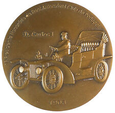 2003 vintage car CENTENARY OF THE AUTOMOBILE CLUB OF PORTUGAL bronze 80mm