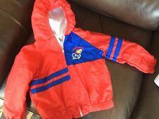 KANSAS JAYHAWKS TODDLER Spring jacket nylon size 4t euc