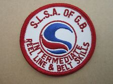 Reel Line Belt SLSA Surf Life Saving Swimming Sport Cloth Patch Badge (L3K)