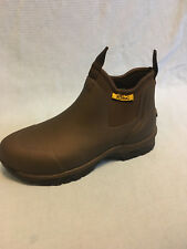 Reed Outdoor Work Boots - Kent Romeo Slip-On - Brown - Men's size 14