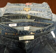 5 Pair Lot Of Woman's BeBe Abercrombie Loft Hollister Banana Rep Jeans Size 4-6