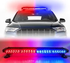 Led Emergency Warning lights Red/Blue Strobe Light Bar Roof Traffic Advisor