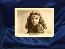 GENE TIERNEY Screen Legend Actress Beauty Cabinet Card Photograph Film Hollywood