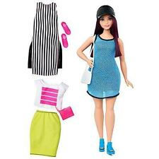 Barbie Fashionistas Barbie Doll # 38 So Sporty Curvy Doll With 3 Outfits New