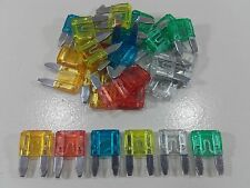 30pc Mini Blade Fuse Set Assorted Pack Auto Mixte Audi BMW Ford Seat Skoda VW