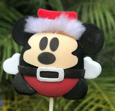 3536ebfa1ad19 Disney World Parks Christmas Santa Mickey Ball Car Antenna Topper