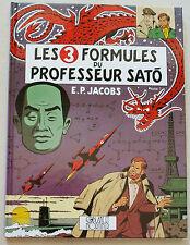 Blake & Mortimer Les 3 Formules du Professeur Sato T 1 E P JACOBS Dargaud rééd